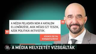 Hat nemzetközi médiaszervezet vizsgálta a magyar sajtó helyzetét 19-12-06