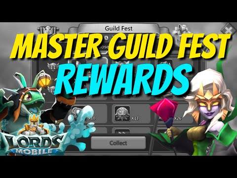 BRR Master Guild Fest Rewards - Lords Mobile