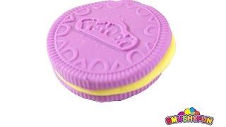 Play-Doh Purple Oreo Cookie