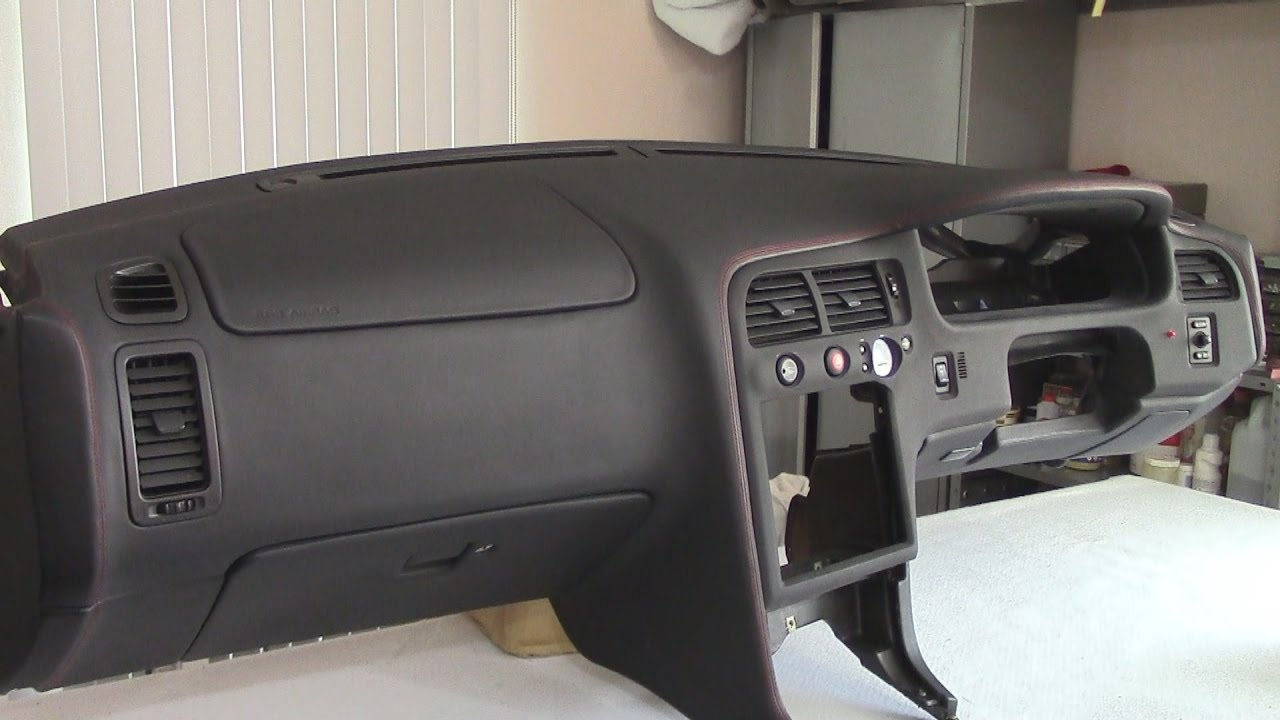 Nissan Skyline Gt R33 Project Leather Wrapping Part Vi