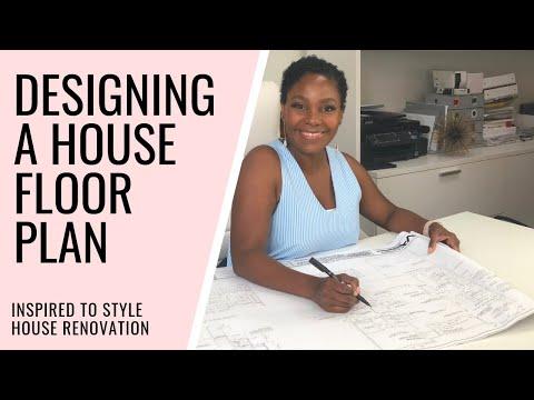 DESIGNING A HOUSE FLOOR PLAN