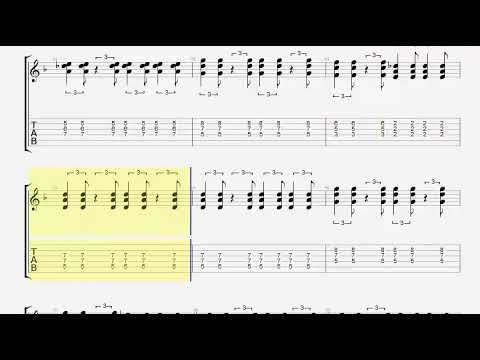 Muse - Uprising (Guitar Tab)