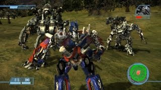 [Epic Modding] Transformers The Game: Revenge of the Fallen Forest Battle ( Optimus vs Megatron,..)