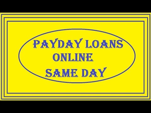 Видео Affordable payday loans