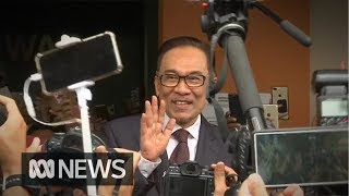 Anwar Ibrahim released after years in prison thumbnail
