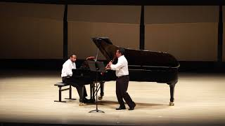Duo Made in Brazil - I. BRAHMS Clarinet Sonata No 2, Op 120