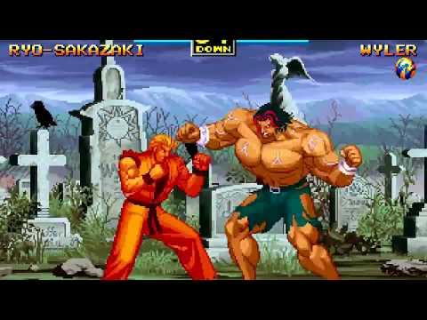 Art of Fighting 3 (Arcade) Playthrough as Ryo