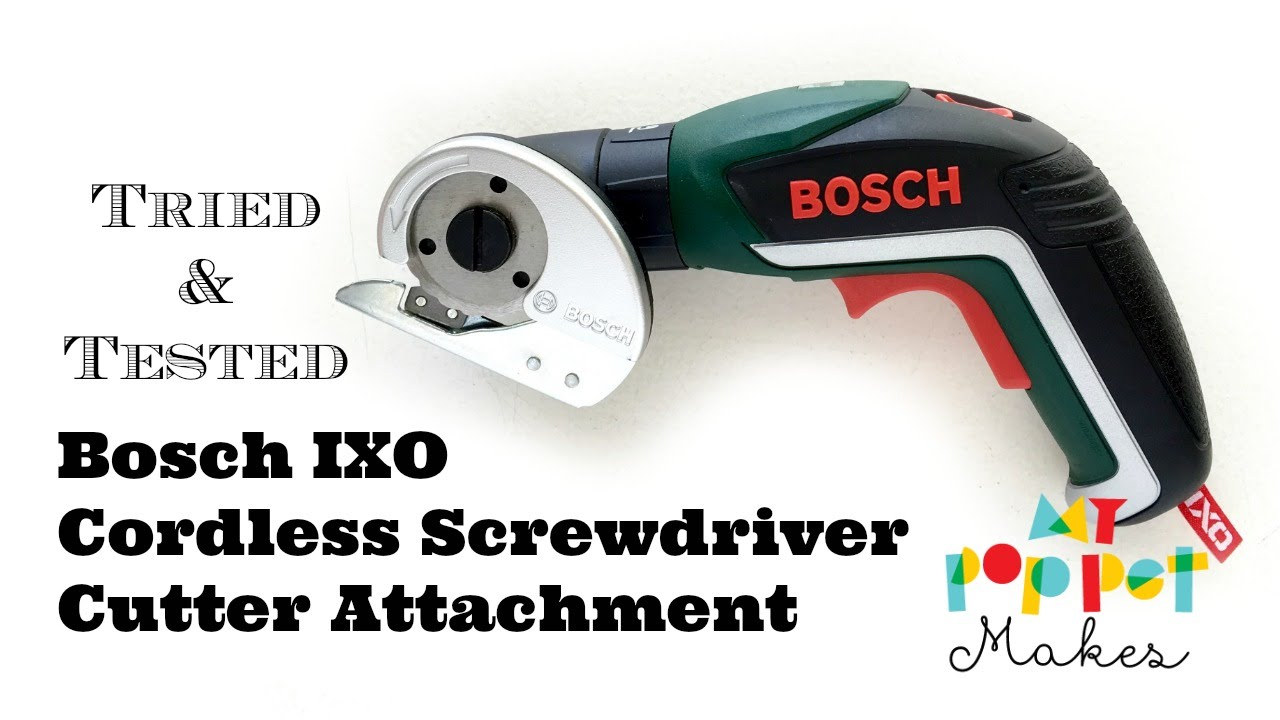 bosch ixo accessories