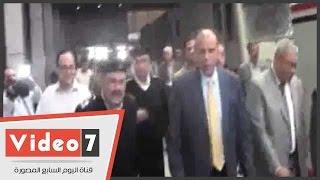 بالفيديو.. مساعد وزير الداخلية يأمر بتفتيش حقائب ركاب السكة الحديد بالكلاب البوليسية