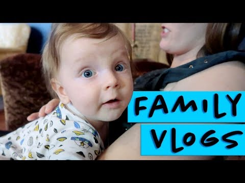 family vlog - a day in the life