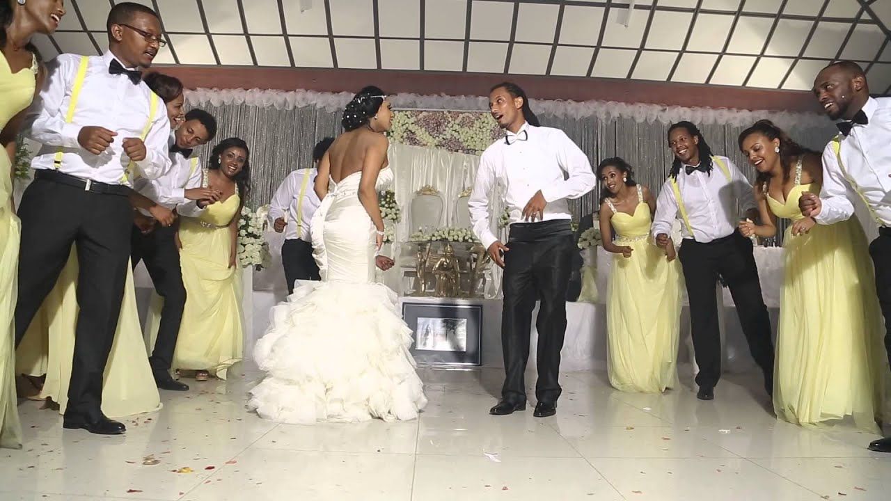 Best Ethiopian Wedding Dance Seble Asrat And Tamene