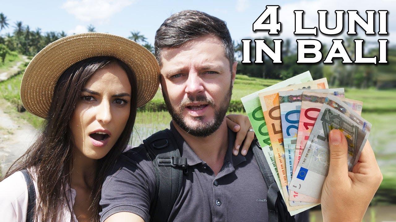 Cati bani am cheltuit in Bali timp de 120 zile