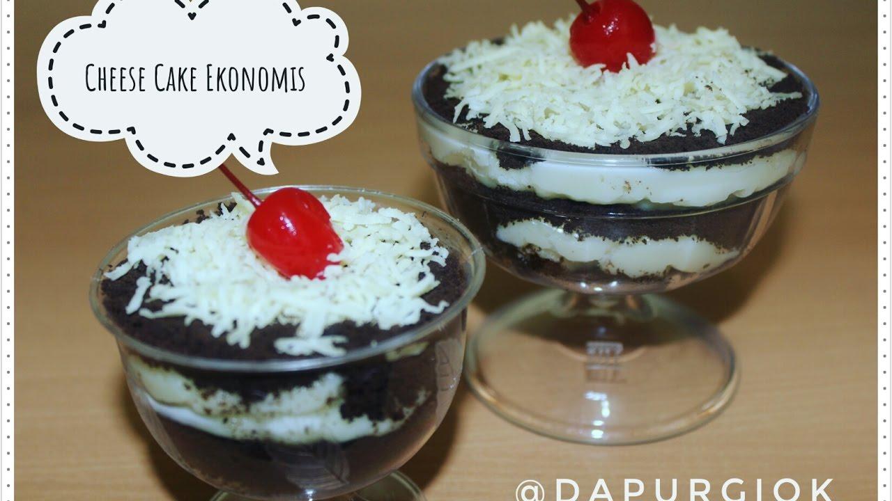 Resep Cake Kukus Lumer: Cheese Cake Lumer Hanya 5 Bahan