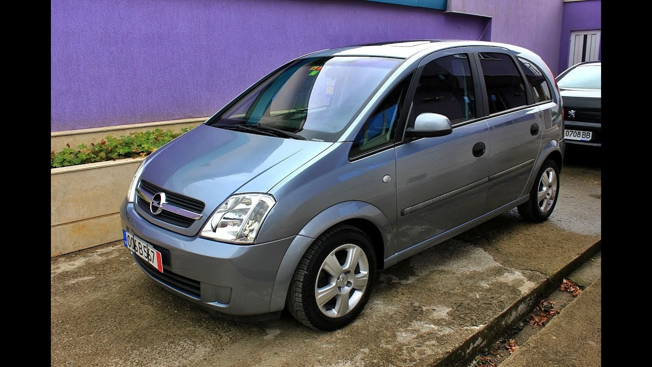 opel meriva 1 6 exclusive 2004 automatic 101hp youtube. Black Bedroom Furniture Sets. Home Design Ideas