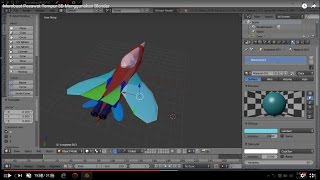 Membuat Pesawat Tempur 3D Menggunakan Blender