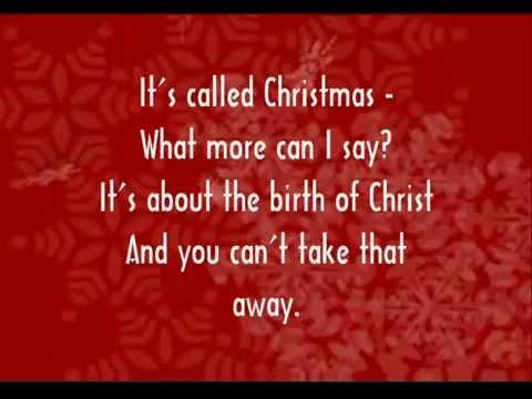 Christmas With A Capital C.Christmas With A Capital C