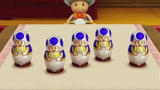 SUPER MARIO PARTY 2018 Minigames  Mario vs Peach vs Dry Bones vs Hammer Bro マリオパーティ2018ミニゲーム