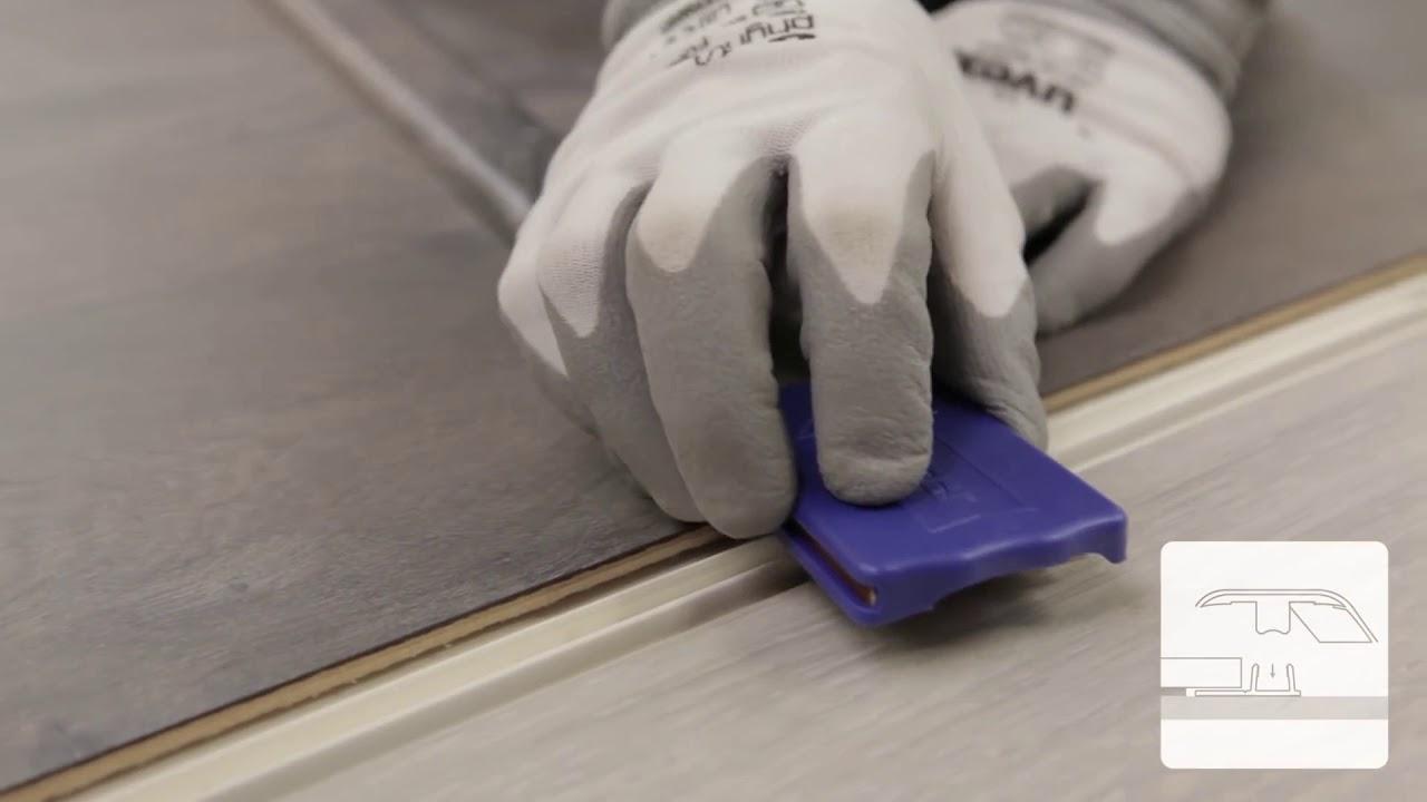 Mohawk Instaform Profile Installation, Mohawk Laminate Flooring Transitions