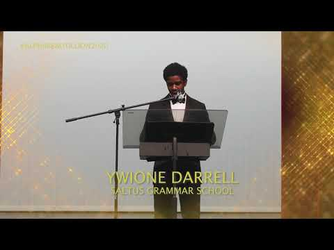Ywione Darrell Speech At Alpha Beautillion, July 19 2020