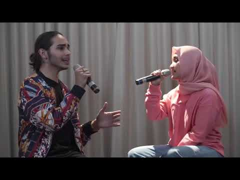 Download Fatin ft. Isaiah Scared to Be Lonely Martin Garrix, Dua Lipa Cover Mp4 baru