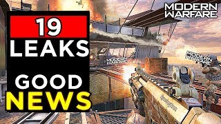 (19 NEW Leaks) IW Removed it.. but AMAZING NEWS EVER! - Modern Warfare Leaks