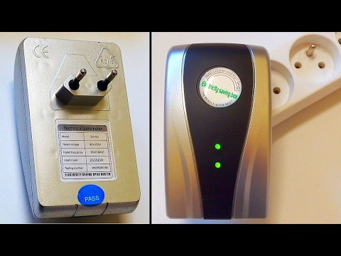 Electricity Saving Box - (Free Energy?) Power Saver TEST