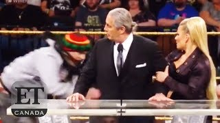 Bret Hart Attacked At WWE Hall Of Fame Induction