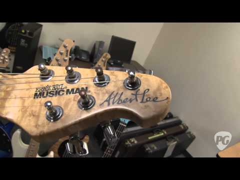 Ernie Ball Music Man - From the Vault Guitars: EVH, Albert Lee, Spinal Tap, Steve Morse Prototypes