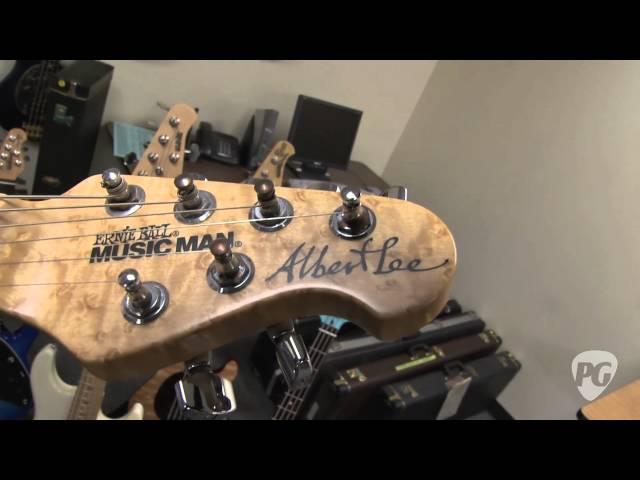 Ernie Ball Music Man - From the Vault Guitars: EVH, Albert Lee, Spinal Tap, Steve Morse Prototypes