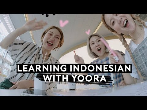 Learning Indonesian With Yoora 🇮🇩❤️ Did We Pass? lol | Wakeup QQ
