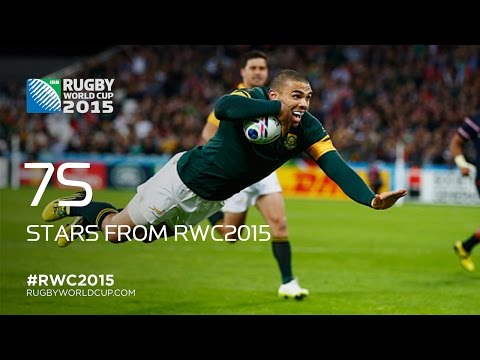 Rugby World Cup stars aiming for 7s glory