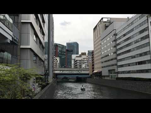 Kanda Sakumacho, Chiyoda-ku in mid-April