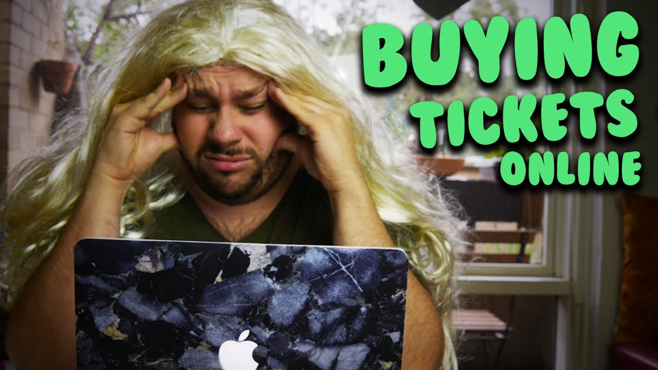 Buying Tickets Online Youtube