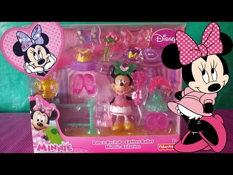 Minnie Mouse Bailarina Ballet - Juguete Disney - YouTube