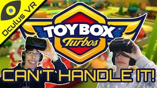 Virtual Reality Toy Cars! ■ Toybox Turbos W/ Nathie ■ Oculus Rift Dk2