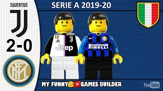 Juventus Inter 2 0 LEGO Serie A 2019 20 Gol e Sintesi 08 03 2020 All Goal Highlights Juve Inter