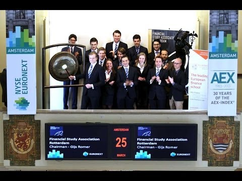 Financial Study Association Rotterdam and Duisenberg School of Finance sound the gong