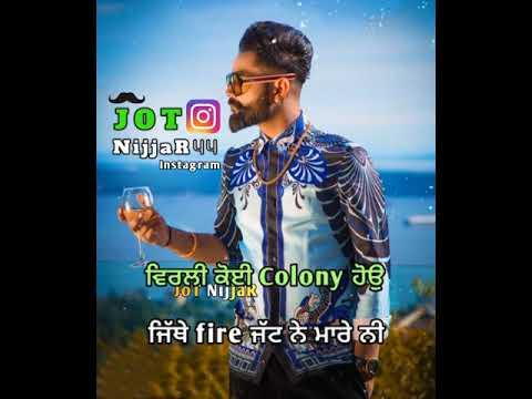 German Gun Amrit Maan Whatsapp Status | Latest Punjabi Songs 2019 | Punjabi Whatsapp Status