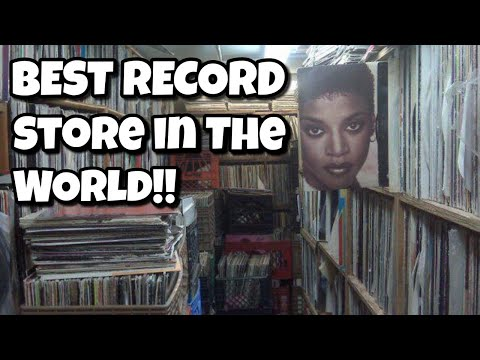 BEST RECORD STORE IN THE WORLD!!