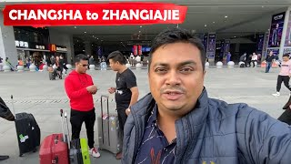 Changsha to Zhangjiajie by Road & Tasting Chinese Food, China Trip EP #28
