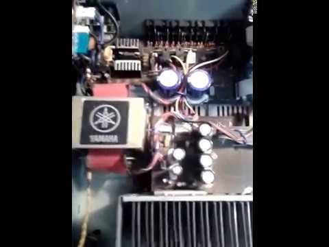 Yamaha rx v450 youtube for Yamaha rx v450 av receiver price