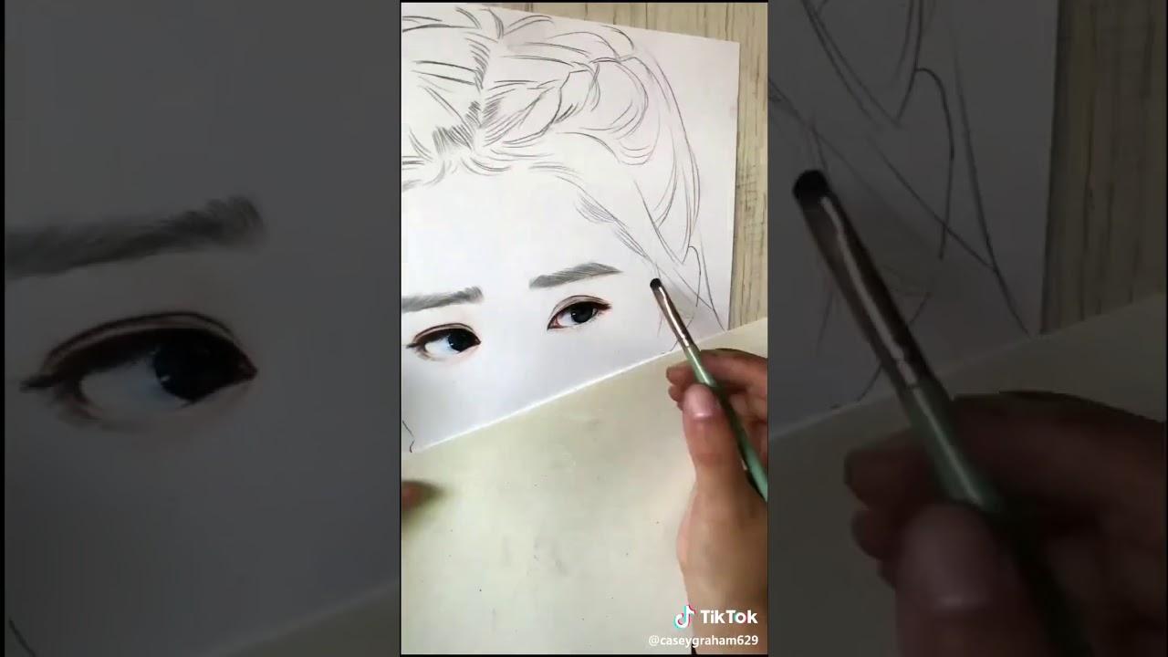 Cách vẽ chân dung đơn giản