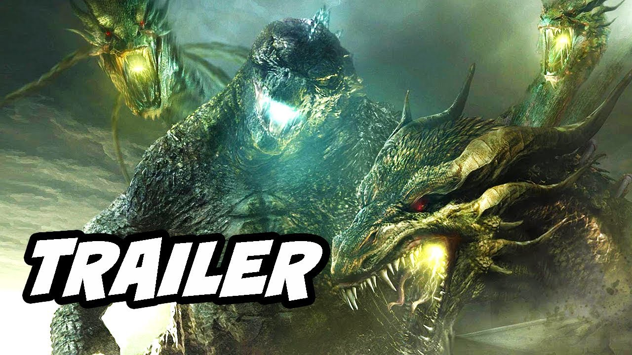 Godzilla King Of The Monsters Trailer Comic Con 2018 Easter Eggs