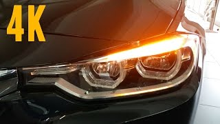 NEW 2016 BMW 3 Series adaptive-LED-headlights [4K]