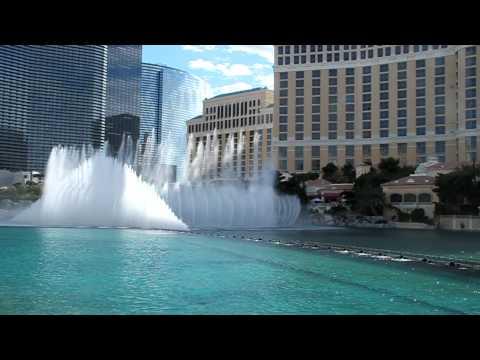 Лас Вегас, Фонтаны Белладжио (Las Vegas, Bellagio Fountains)