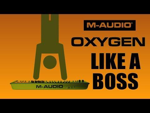 How To Program Your M-Audio Oxygen Midi Controller