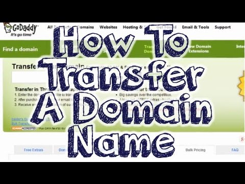 Transfer Domain Name - Step By Step