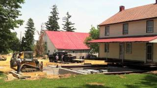 Moving a 200yearold  Home in Schaefferstown PA