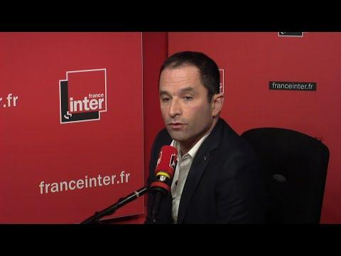 Benoît Hamon face aux auditeurs