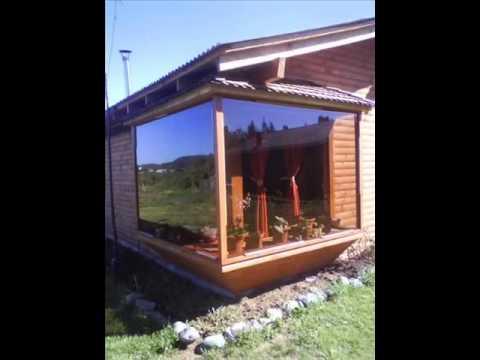 Caba as campestres en pucon youtube for Planos de cabanas campestres